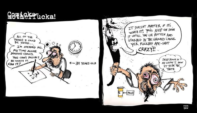 crazy comic